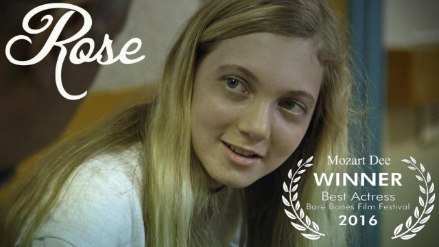"Mozart Wins Best Actress Award for the Film ""Rose""!!"