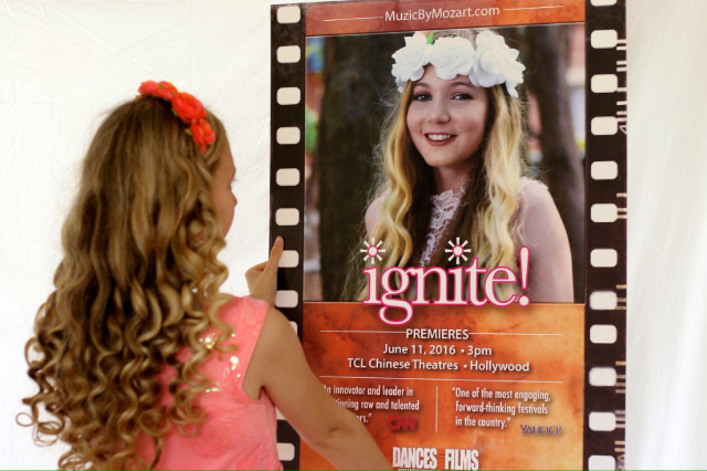 "Mozart Dee's Music Video ""Ignite"" Premieres at Chinese Theatre in Dances With Films Festival!"