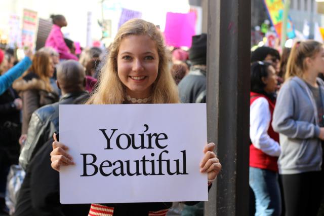 Women's March - Change, Inspiration,  Travel, Love & Family