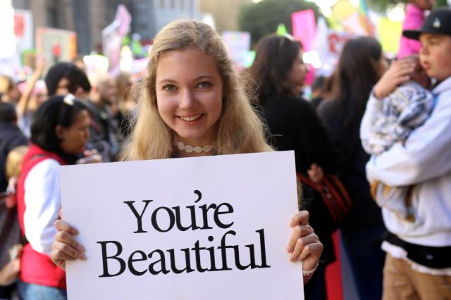 LA Women's March - family love