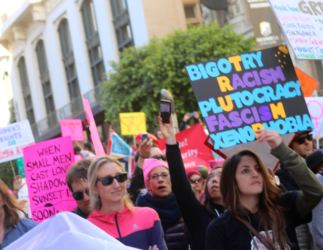 Empowered Americans in the Women's March