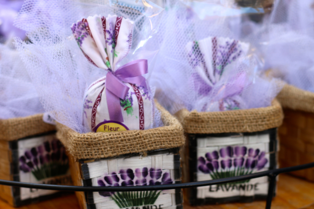 Lavender gifts in Provence