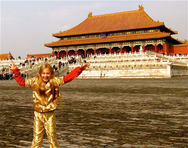 Mozart Dee in China at 12