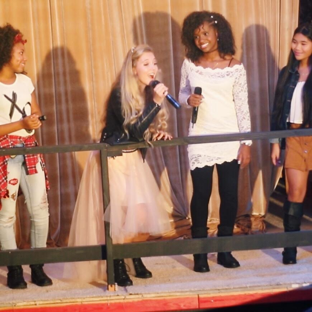 """Mozart Dee singing on TV show """"Born This Way"""""""