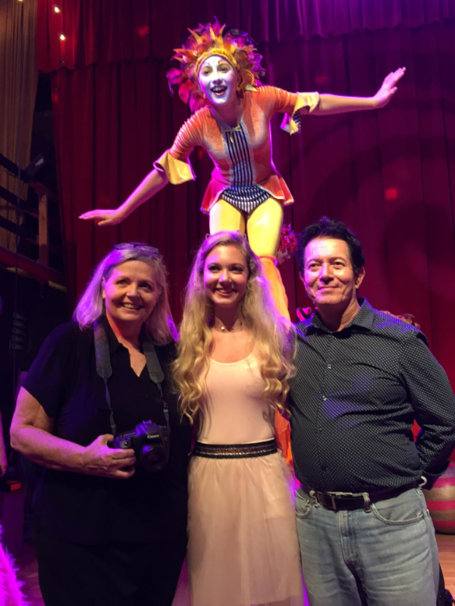 "mozart Dee Sings on TV show ""Born This Way"" at Le PeTiT CiRqUe"