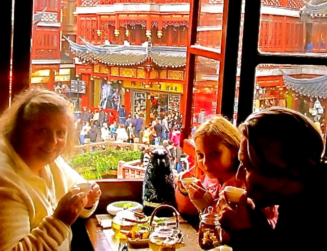 Greatest Benefit of Long Term Family Travel?  exploring Shanghai