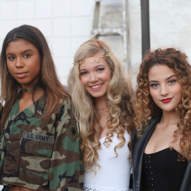 Brat series stars Heavenly Reyna,  Sofie Dossi & Aliyah Moulden