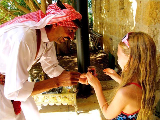 Heavenly Reyna in Jordan