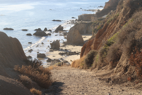 Best Beach in Los Angeles? El Matador in Malibu!