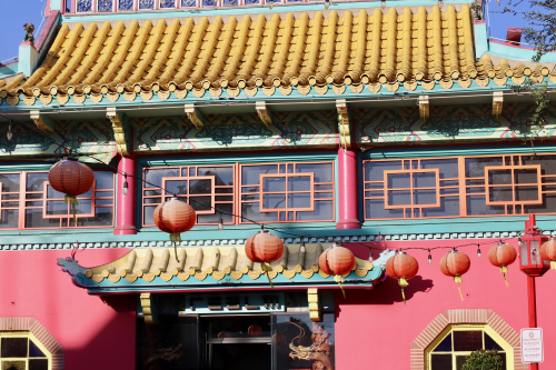 Exploring China Town Los Angeles & Chinese New Year!