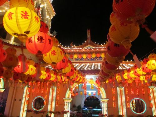 Soultravelers3 in Asia for Chinese New Year temple