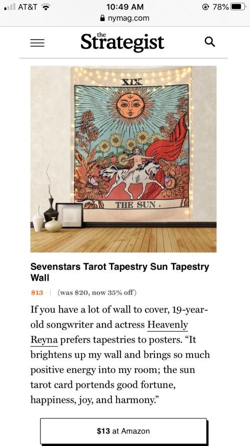 Heavenly Reyna in New York Magazine