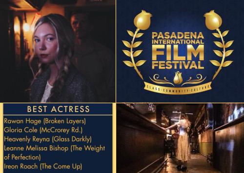 Heavenly Reyna best actress in Glass Darkly